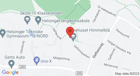Himmelblå Gefionsparken 24b, 3000 helsingør